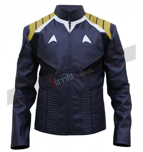 Chris Pine Star Trek Beyond 2016 Leather Jacket | Replica Movies Leather Jackets | Scoop.it