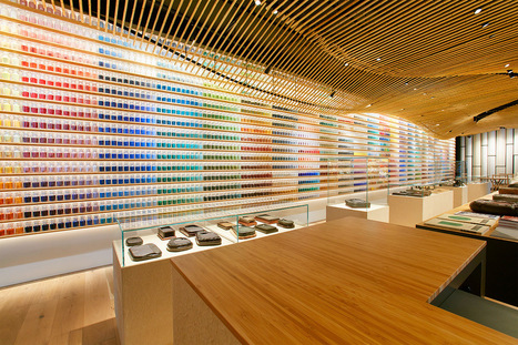 A New #Japanese #Painting Supply Store Lines its Walls With 4,200 Different #Pigments #colour #art | Luby Art | Scoop.it