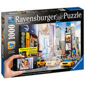 Colorful Activities at Times Square Augmented Reality Puzzle - 1000 pc | Talking things | Scoop.it