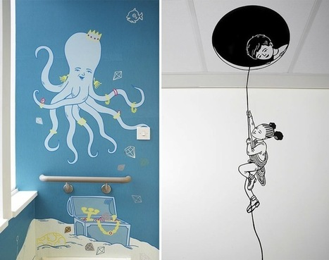 London Children's Hospital Transformed by Fun Artwork | Inspiration: Imagine. See the possibilities. | Scoop.it