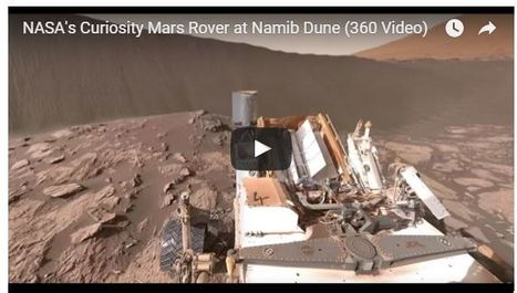 Experience Mars in 360 Degrees With This New NASA Video - TIME | Professional Learning for Busy Educators | Scoop.it