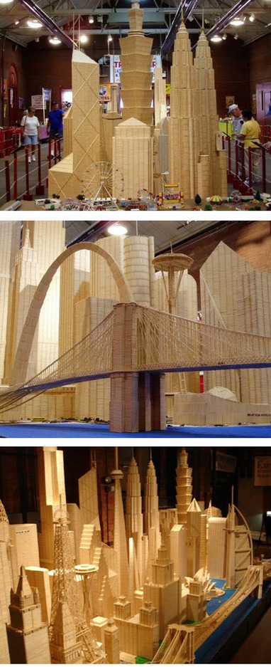 10 Awesome Miniature Crafted Cities (miniature cities, awesome cities) - ODDEE | enjoy yourself | Scoop.it