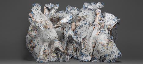 Damien Hirst & Alexander McQueen Collaboration | Historia de la moda a través de la historia del arte. | Scoop.it