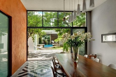 Fresh and Modern Residence in Mexico | 2012 Interior Design, Living Room Ideas, Home Design | Scoop.it