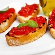 Bruschetta with Tomato and Basil - Bread Recipes - Recipes - from Delia Online   Tapas   Scoop.it