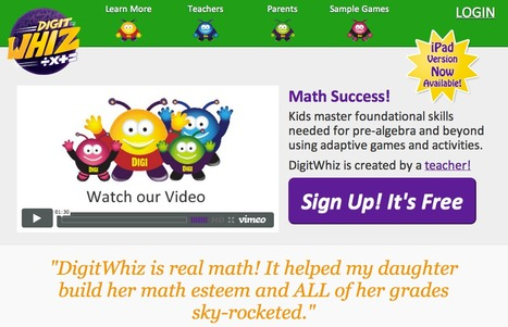 DigitWhiz - delivers math literacy in a meaningful and fin way | IKT och iPad i undervisningen | Scoop.it
