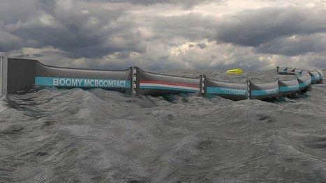 Nettoyage des océans, c'est parti : le projet fou de Boyan Slat se concrétise ! | Biomimétisme-Economie Circulaire-Société | Scoop.it
