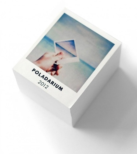 Tear-Off Calendar Reveals A New Polaroid Picture Each Day - DesignTAXI.com | Polaroid | Scoop.it