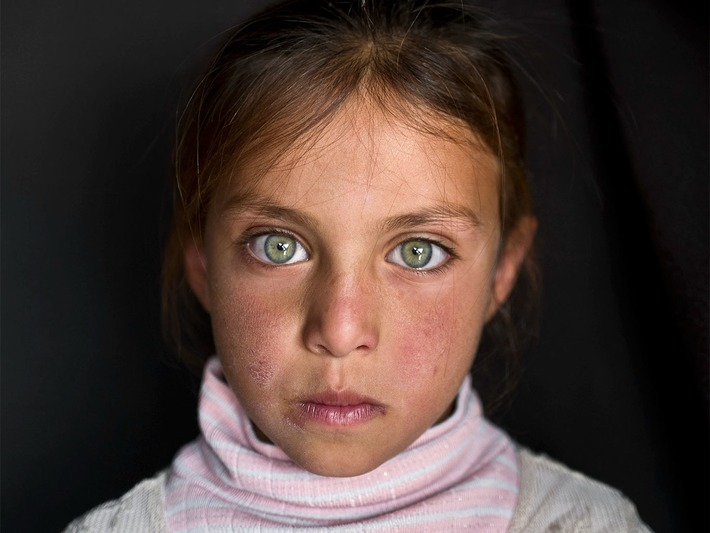 Look Into the Eyes of Refugee Children | National Geographic | À la une | Scoop.it