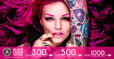 Amazing Discount Offers and Deals on Permanent Tattoos   Black Poison Tattoos   Scoop.it