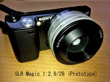 SLR Magic takes over the Noktor brand, shows a 28mm f/2.8 NEX lens prototype | Photography Gear News | Scoop.it