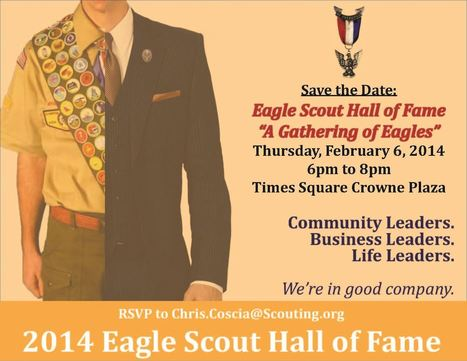 NYC Eagle Scout Hall of Fame with Acclaimed Author Alvin Townley   Boy Scouts of America   Scoop.it