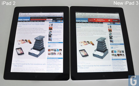 Difference Between The iPad 2 And iPad 3 | Geeky Gadgets | TiPS:  Technology in Practice for S-LPs | Scoop.it