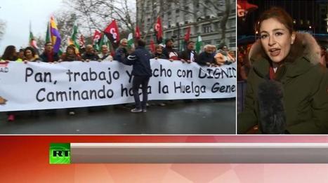 «Марш достоинства»: тысячи испанцев требуют социальной справедливости | Global politics | Scoop.it