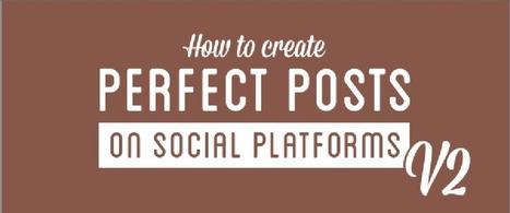 ¿Cómo crear post perfectos en Redes Sociales? | SocialMedia | Scoop.it