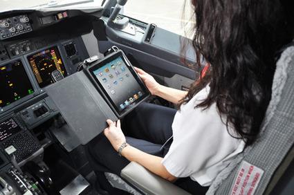 L'iPad dans les avions réduit leur consommation de kérosène | Geeks | Scoop.it