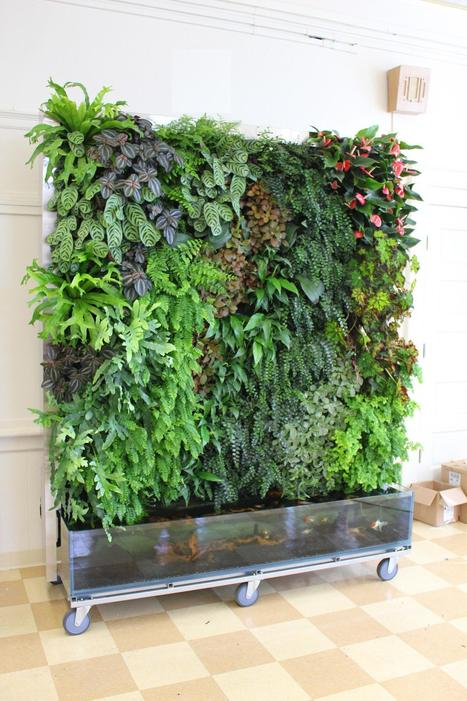 Vertical Garden Installations - 4/5 - Living walls and Vertical Gardens | Organic Farming | Scoop.it