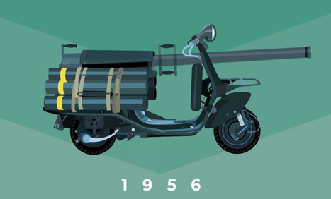 Vespalogy: an animated look at vespas from 1943-2013 | Hashslush --- Design, Technology, Social Media, Advertising, Mobile, Gadgets | Scoop.it