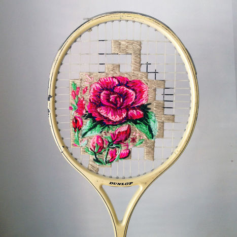20 #Artists Who Took #Embroidery To The Next Level. #art   Luby Art   Scoop.it