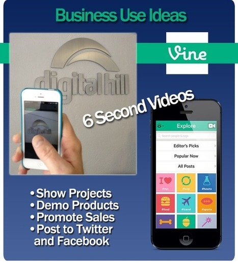 Using the Vine App from Twitter for your Business | Digital Brand Marketing | Scoop.it