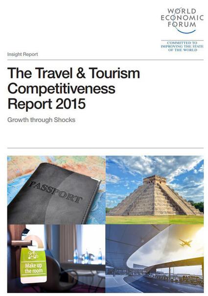 Forum Economique Mondial - étude tourisme - France - 2015 | Le site www.clicalsace.com | Scoop.it