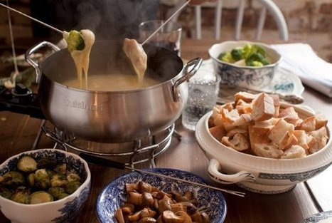 Here's a Look at Maman's Fabulous Cheese-Fondue Dinner   Urban eating   Scoop.it
