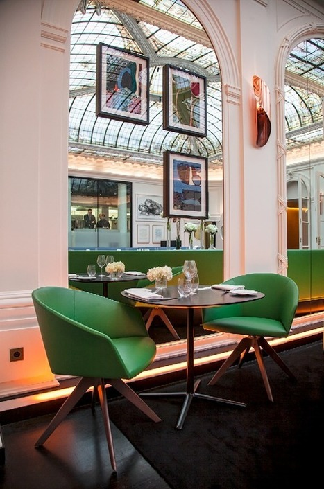 Paris chic à l'hôtel design « Le Vernet » - CôtéMaison.fr | Hôtellerie Française 2.0 | Scoop.it