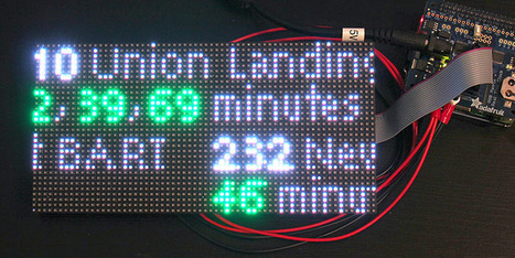 Overview | NextBus transit clock for Raspberry Pi | Adafruit Learning System | Arduino, Netduino, Rasperry Pi! | Scoop.it