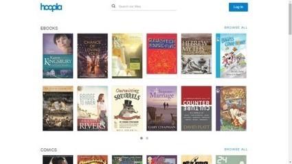 Hoopla Adds eBooks, Digital Comics to Its Pay-per-Loan Library Service | Pobre Gutenberg | Scoop.it