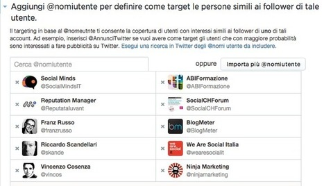 Twitter Ads, la mia prima campagna di twitter advertising | Twitter addicted | Scoop.it