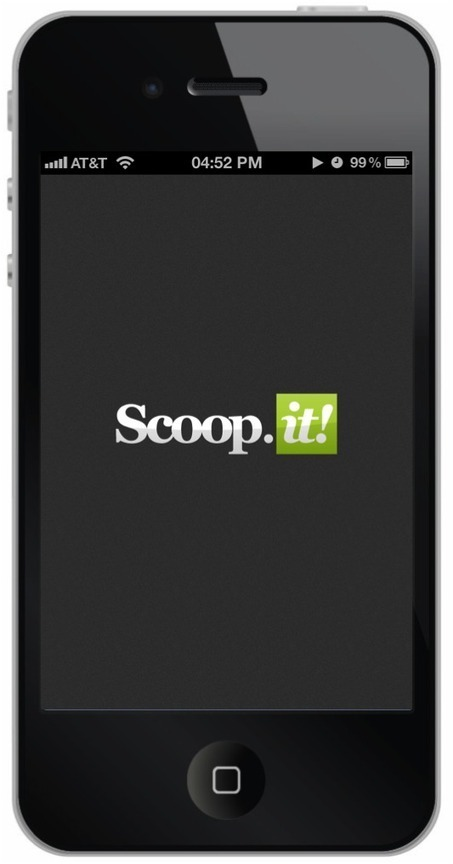 Today Content Curation Tool Scoop.it Launched Its iPhone App | Scoop.it Blog | News, topics and more | Scoop.it