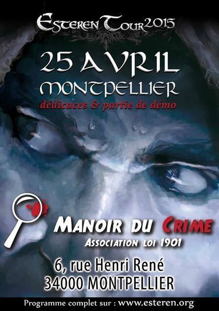 Esteren Tour : Montpellier le 25 avril | Les Ombres d'Esteren | Jeux de Rôle | Scoop.it
