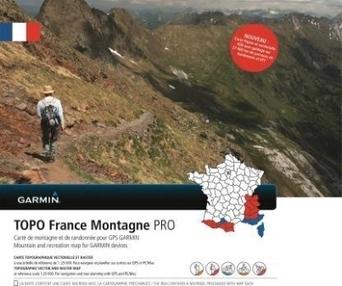 Garmin lance une nouvelle carte numérique de randonnée | Randonnées | Scoop.it