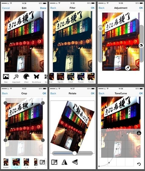 Open Source iOS Image Editing Component With A Great Interface Providing Image Filters And More | learning | Scoop.it
