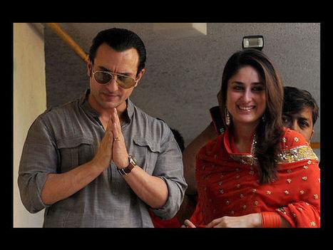 Saif Ali Khan-Kareena Kapoor Anniversary Plans Revealed | chouchou | Scoop.it