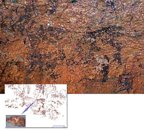 The chemistry of rock-art | Mégalithismes | Scoop.it