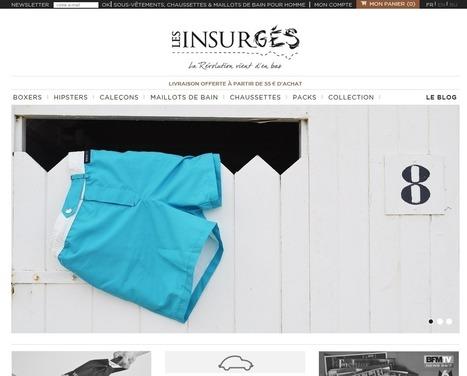 » Témoignage de e-commerçant – Evolution de la boutique Les Insurgés de Matthieu - Wizishop Blog Ecommerce   Veille internet   Scoop.it