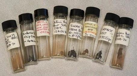 Vials of Apollo 11 moon dust found in storage - NBCNews.com (blog) | sceptic | Scoop.it