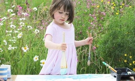 Petite fille autiste peintre | L'autisme | Scoop.it