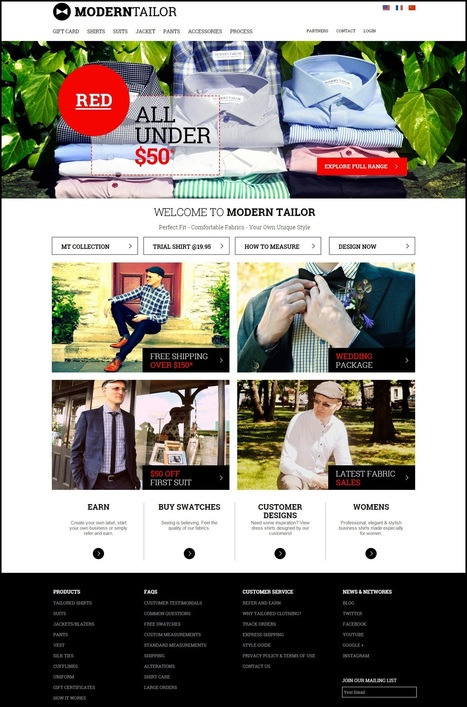 Launch a Superior Modern Tailor Clone with Awesome Script Features | Web Design & Development Company India | Scoop.it
