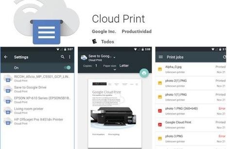 ¿Cómo imprimir desde tu dispositivo móvil Android o iOS? | Eines online tutorials | Scoop.it