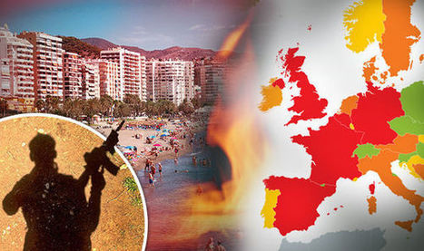 How safe is your 2016 summer holiday: Map reveals most DANGEROUS destinations in Europe | AIR CHARTER NEWS | Scoop.it