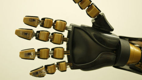 We're One Step Closer To Creating Artificial Skin With a Sense of Touch | Robotics | 21st Century Innovative Technologies and Developments as also discoveries, curiosity ( insolite)... | Scoop.it