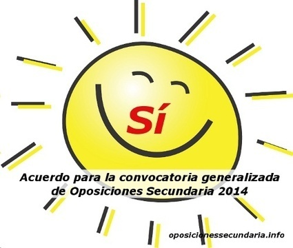 Convocatoria Oposiciones Secundaria 2014: Acuerdo entre varias comunidades | educacon | Scoop.it