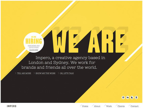 21 Beautiful Examples of Color Usage in Web Design | Inspiration | timms brand design | Scoop.it