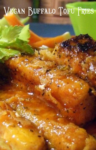 Meatless Monday with Vegan Buffalo Tofu Fries | My Vegan recipes | Scoop.it