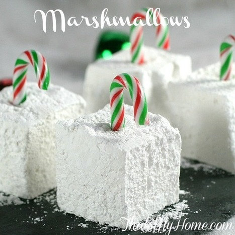 #Recipe Homemade Marshmallows - That's My Home   Food   Scoop.it