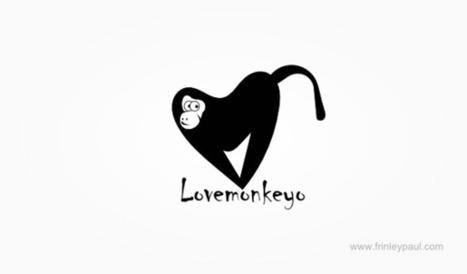 Love Monkey Logo Design | Logo Gallery | Logo Design Ideas | Scoop.it