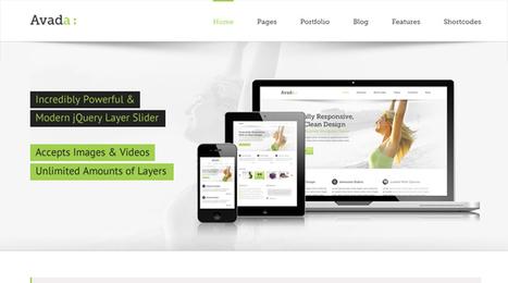 Avada, WordPress Premium Responsive / Multi-Purpose Theme | WP Download | WordPress help | Scoop.it