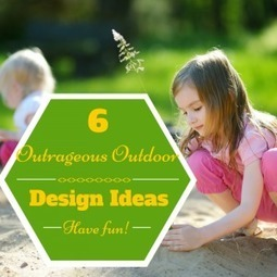 6 Outrageous Outdoor Furniture and Design Ideas - Design Furnishings   Outdoor Furnishings   Scoop.it